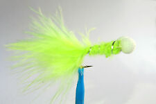 1 x Mouche streamer BOBBY CHARTREUSE H8/10/12 fly truite trout fliegen mosca