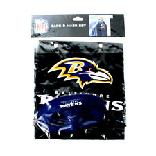 NFL Baltimore Ravens Cape and Mask Set