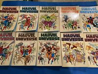 Official Handbook of the Marvel Universe TPB Volume 1-10 Complete 1986/87 Ed
