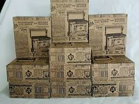Retro Advertising Candy Box Lot American Stick Empty Cardboard Old Fashioned 70s
