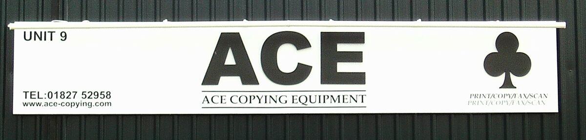 Ace Copying Equipment Ltd
