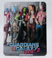 GUARDIANS OF THE GALAXY Volume 2 Bluray Steelbook Magnet Cover (NOT LENTICULAR)