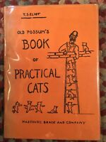 T.S. Eliot Old Possum's Book Of Practical Cats 1ST PRINT GORGEOUS