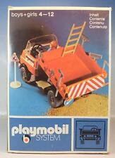 Playmobil 3203 Baustellen LKW Muldenkipper in früher in O-Box #45