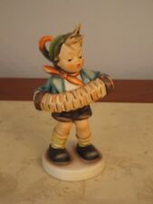 "Hummel, ""Accordian Boy"",  vintage figurine by Goebel"
