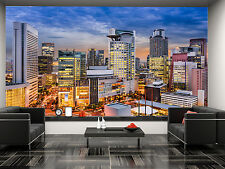 Osaka City Wall Mural Photo Wallpaper GIANT DECOR Paper Poster Free Paste