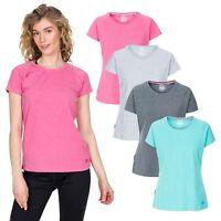 Trespass Womens T-Shirt Short Sleeve Casual Summer Top Benita