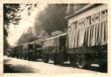 Foto, schwere Lkw mit Doppel Anhänger (N)20550