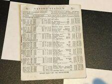 RARE VINTAGE 1948 WHITE CITY VINTAGE GREYHOUND RACING PROGRAMME 2O MARC RACECARD