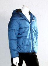 Jacke C&A here + there Anorack Steppjacke Winterjacke Polyester blau Gr. 170/176
