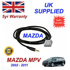 Mazda MPV AUX 3.5mm Input Audio cable High Quality Sound model year 02-11