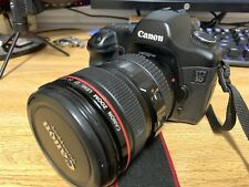 Canon EOS 5D 12.8 MP Digital SLR Camera - Black With Canon EOS 24-105 F4 IS USM