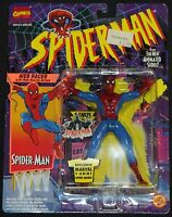 1994 Toy Biz Marvel Spider-Man Animated Series Action Figure Web Racer MOC
