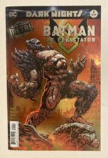 Batman: The Devastator Dark Nights Metal Tie In 1st Print Foil Stamped DC