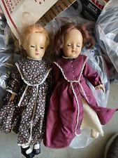 2 Vintage Clothed Dolls Madame Alexander, Ideal Lot Nice Dolls