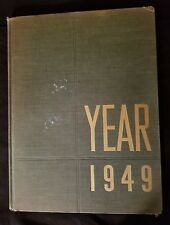 Year 1949 Second Annual Edition book
