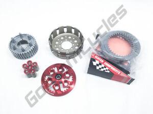 Ducati Dry Clutch Hub Basket Pressure Plate Spring Cap Barnett Kit RED