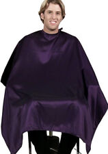 "BLACK Salon Barber Hair Cutting Cape 50""x60"" BEST in Industry Buy 12 Get 1 FREE"