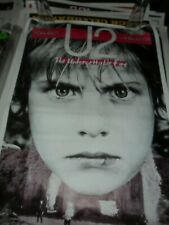 U2 80s Promo Poster Tour Concert Bono THE UNFORGETTABLE FIRE Torhout Werchter