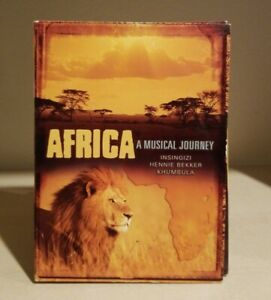 Africa A Musical Journey - CD - (3 Disc Set) Voices of Africa, Jabula