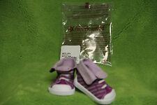 "American Girl ""Purple Striped Sneaker Shoes""  (School Stripes)(Shoes Only) - NIP"