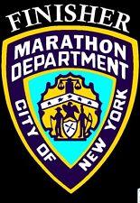 2019 any year New York City Nyc Marathon Nypd Decal iPad,Luggage, Car Window