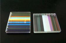 8PCS Defective Optical Glass Decoration Lens Prism F Science Physics Research