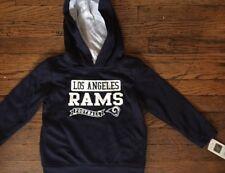 NWT LOS ANGELES RAMS BOYS TODDLER HOODIE JACKET POLYESTER SWEATSHIRT 3T