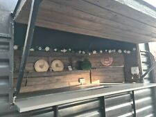 More details for converted horse box bar