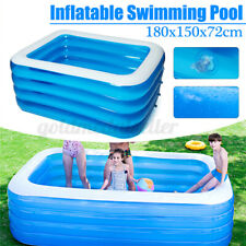 Aufblasbare Schwimmbad Familien Kinderpool Schwimmen Schwimmbecken Planschbecken