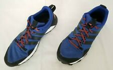 Mens Size 12 Black Blue Adidas Kanadia TR7 Trail Running Shoes S85147 preowned
