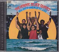 HORACE SILVER - you gotta take a little love CD
