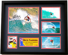 New Mick Fanning Signed Limited Edition Memorabilia