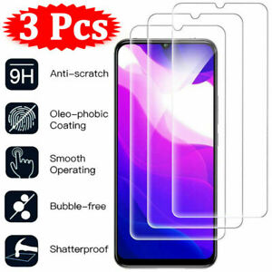 3Pcs Tempered Glass Screen Protector For Xiaomi Mi 11 Lite 10T Pro 9T A3 A2 8 9