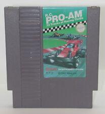 Nintendo R.C. Pro-Am Game Cartridge, Works R13412