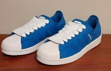 Adidas Original Superstar Sneakers/Shoes Shell Toe Mens Size 9.5 Blue