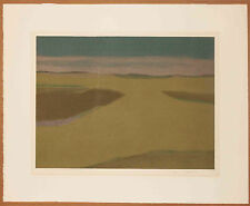 Listed Canadian Artist Takao Tanabe signed Color Lithograph