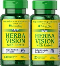 2 LUTEIN & BILBERRY 120 SOFTGELS ( improve vision, eye care )