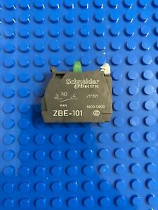 Schneider ZBE-101 Normally Open Contact block ZBE 101 NEW