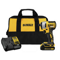 DEWALT 20V MAX Compact Brushless 1/4 in. Impact Driver DCF787C1 New