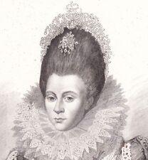 Elisabeth Reine d'Angleterre & d'Irlande Elizabeth I of England Gavard