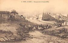 CPA ALGERIE VIEIL ALGER REMPARTS DE LA CASBAH