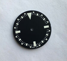 1655 McQueen Style Dial for Seiko 7S26 NH35 Movement MOD White Lume 28.5mm