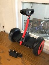 New listing Ninebot S By Segway Smart Self Balancing Transporter With Charger Works Great