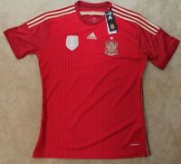 Adidas Spain National Team Soccer Jersey - Red XL - NWT