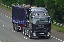 Truck Photo 12x8 - Iveco Stralis - Blackwater Transport - C17 BWT