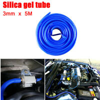 3mm*5M Car Silicone Vacuum Tube Hose Silicon Blue Air Water Coolant Oil Turbo