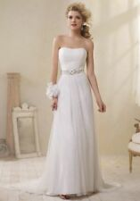 Alfred Angelo ivory embroidered wedding dress UK 16 style 8503
