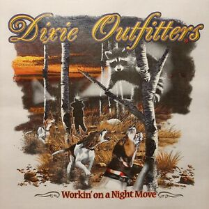 DIXIE OUTFITTERS COON HUNTING WORKING ON A NIGHT MOVE SHIRT  #7051