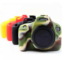 For Canon EOS 3000D 4000D Rebel Silicon Case Body Cover Camera Frame Skin Voor